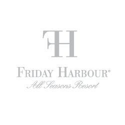 Enticity branding client Friday Harbour logo