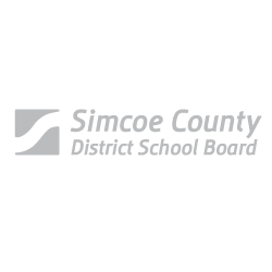 Enticity branding client Simcoe County School Board logo