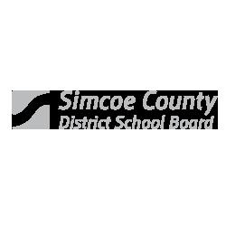 Enticity branding client Simcoe County School Board logo