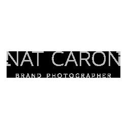 Nat Caron branding logo