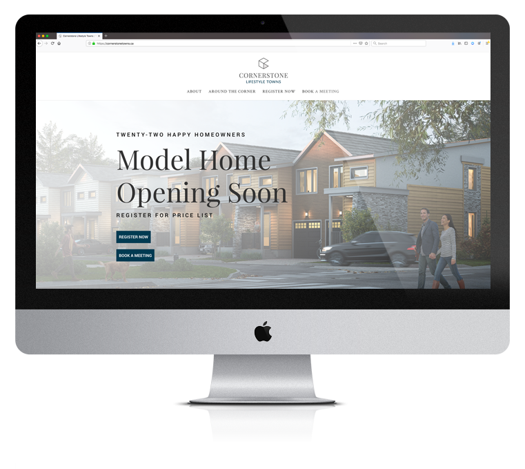 Website Design Enticity Cornerstone
