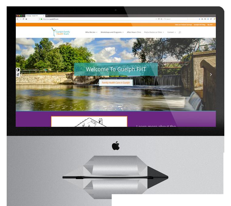 Website Design Guelph Family Health Team