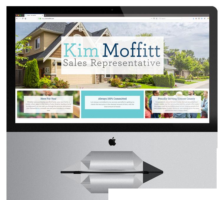 Website Design Kim Moffitt