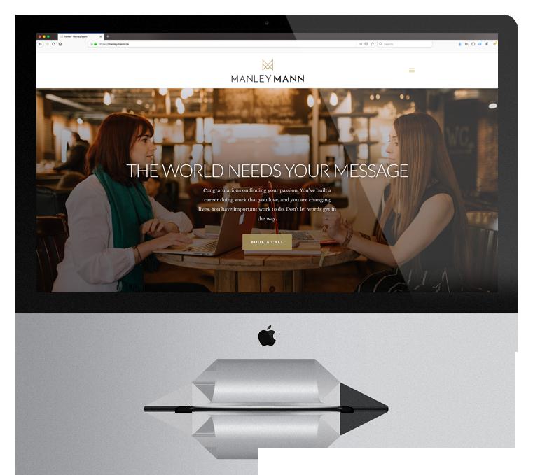 Website Design Enticity Manley Mann