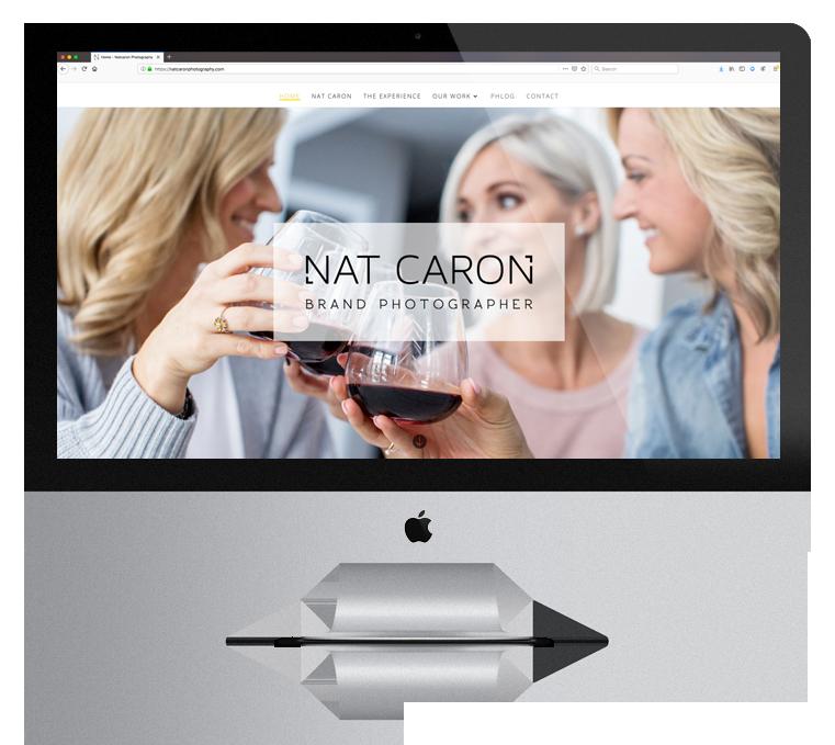 Website Design Enticity Nat Caron