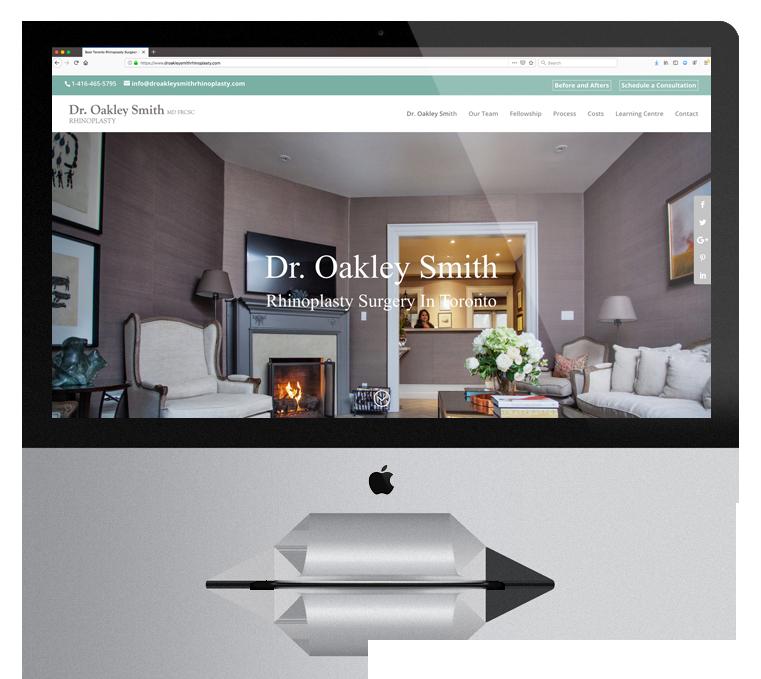 Website Design Enticity Dr.Oakley Smith