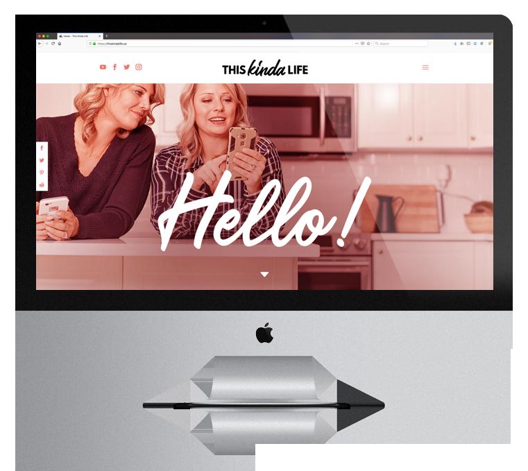 Website Design Enticity This Kinda Life