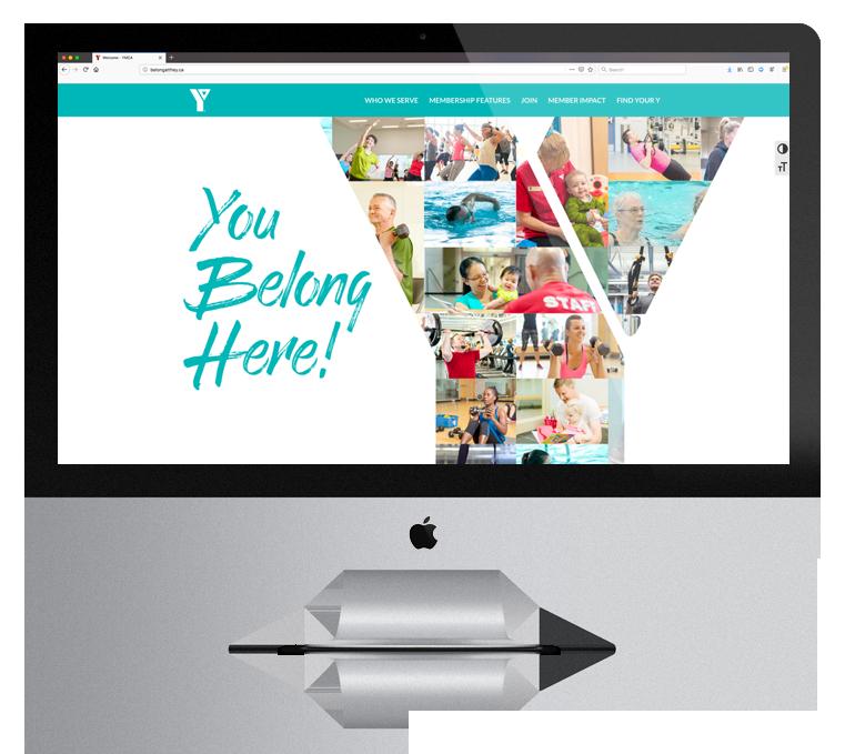 Website Design YMCA Campaign